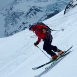 Spring Ski Mountaineering On Mont Velan, Swiss Alps