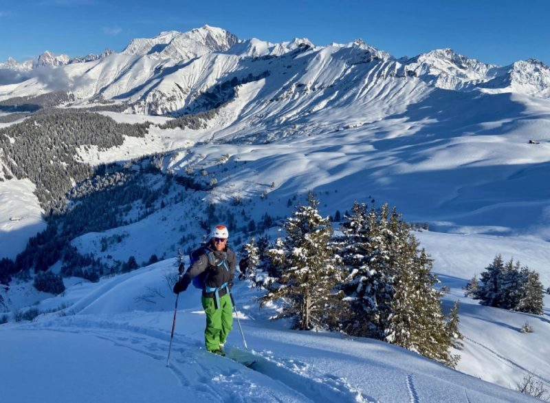 Megeve Ski Touring Guide
