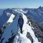 Matt On The Summit Of The Eiger