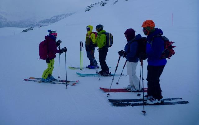 Chamonix Off Piste & Ski Mountain Skills, Jan 2017