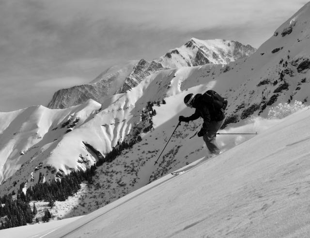 Chamonix Intro Ski Touring Course, Feb 2017