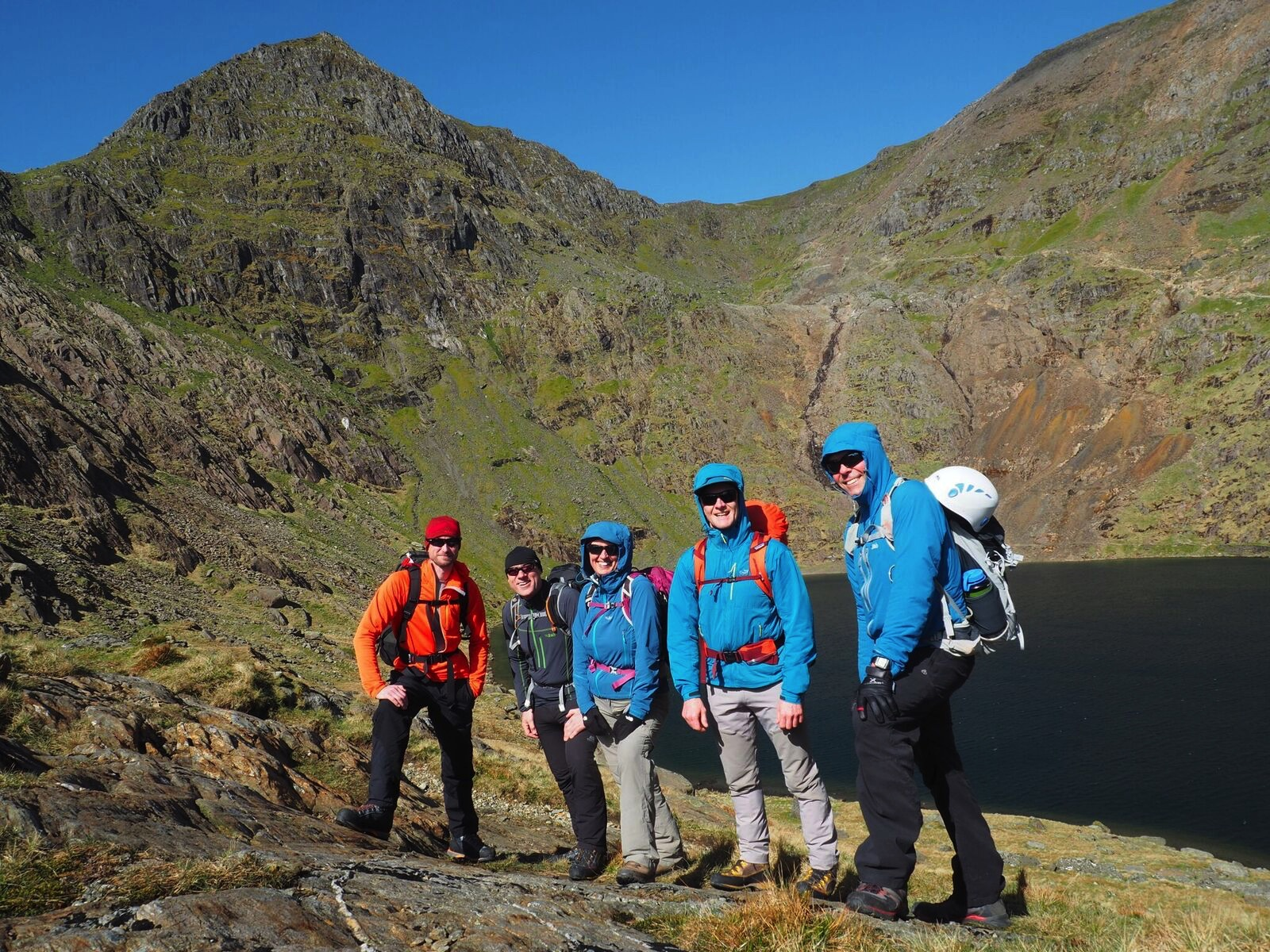 Mont Blanc Training Weekend In Snowdonia April 2017