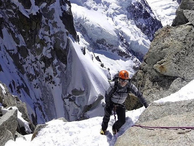 Chamonix Spring Mountaineering Weekend – April 2017