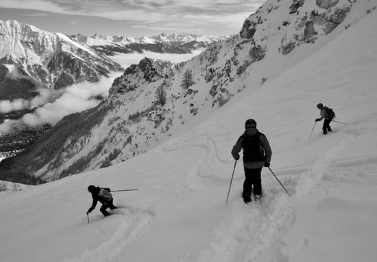 Chamonix & Courmayeur Off Piste Ski Guiding