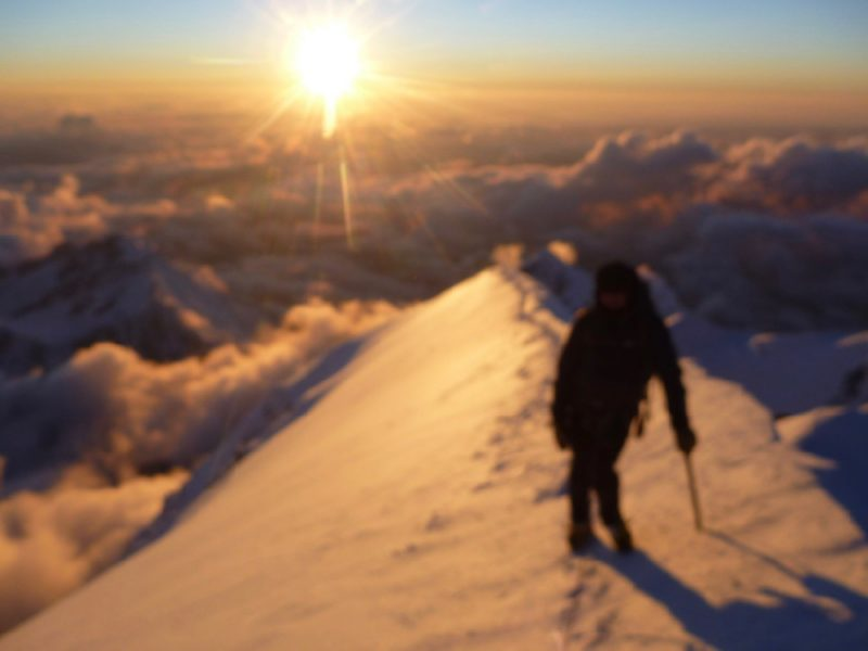 1 day ascent Mt Blanc