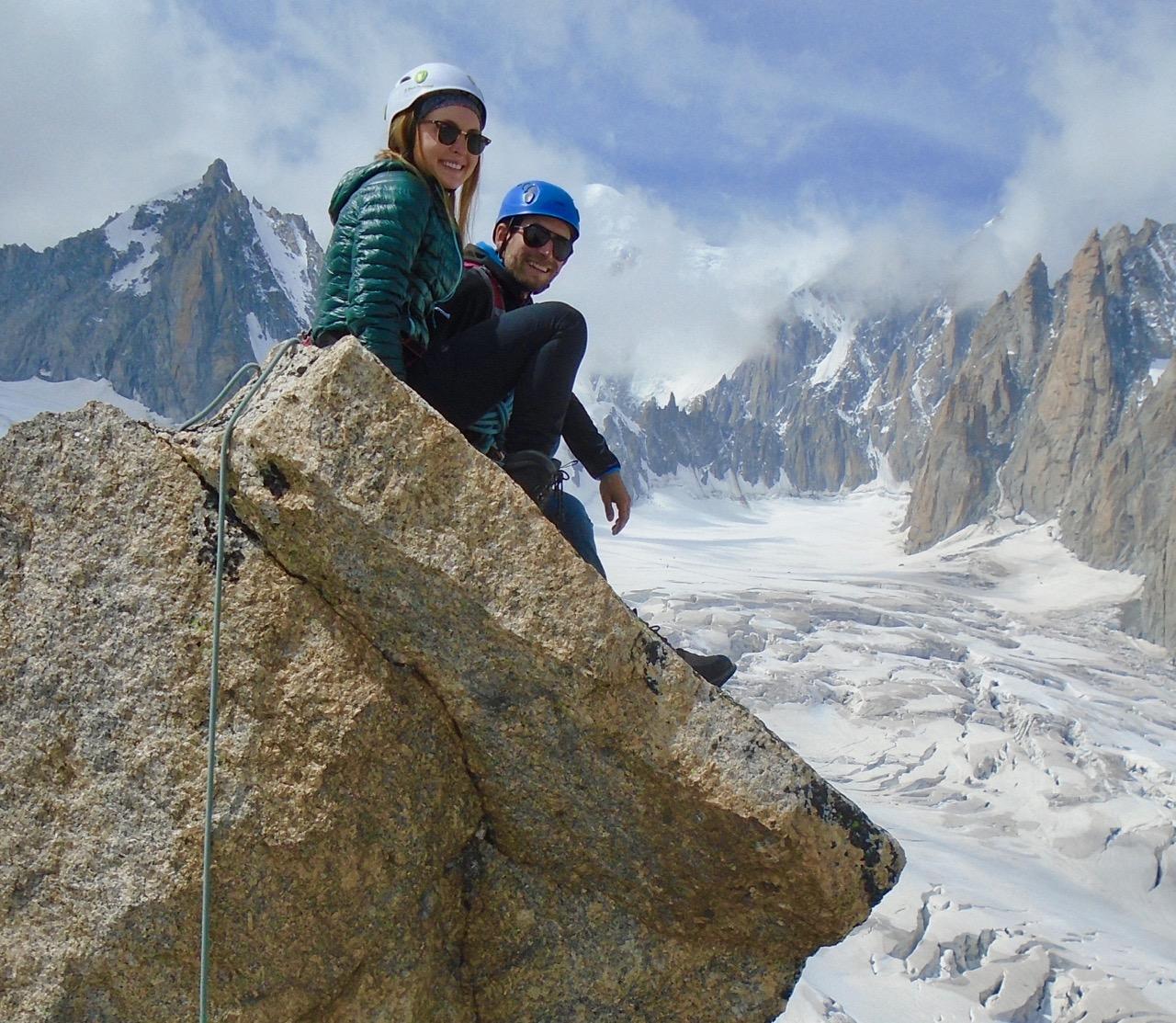 Chamonix Mountaineering & Weissmies, August 2017