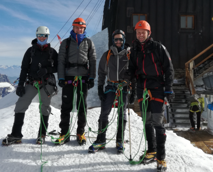 Monte Rosa Mountaineer Course, August 2017