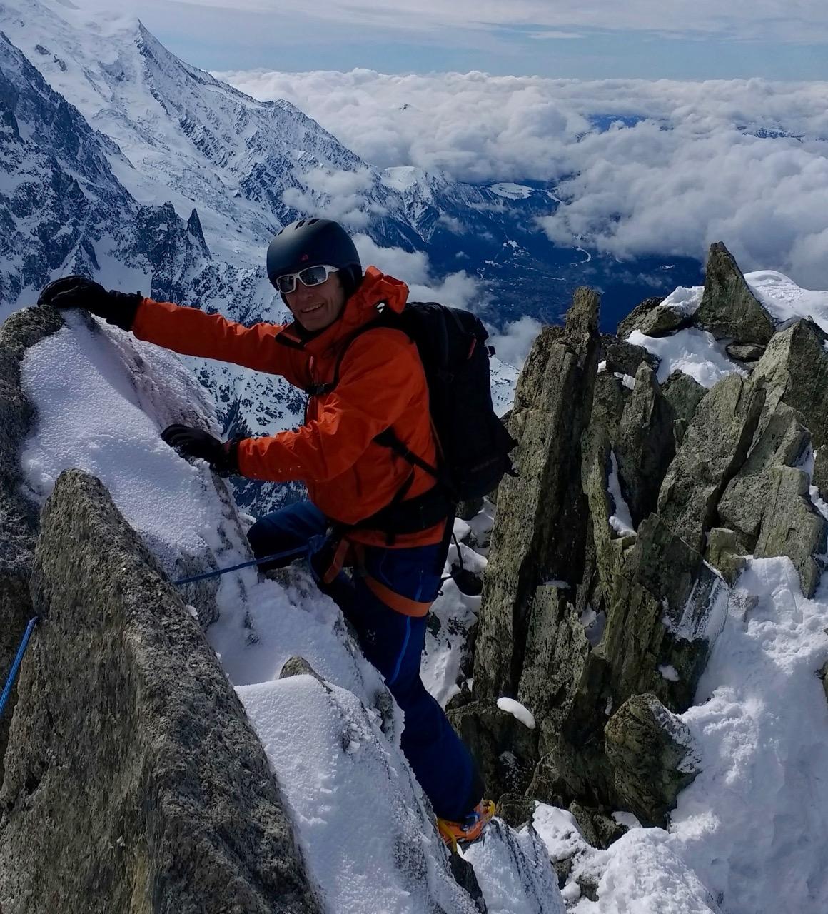 Chamonix Ski Mountaineering, March 2017