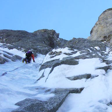 Madness Tres Mince (III,5 500m) North Face Pre de Bar