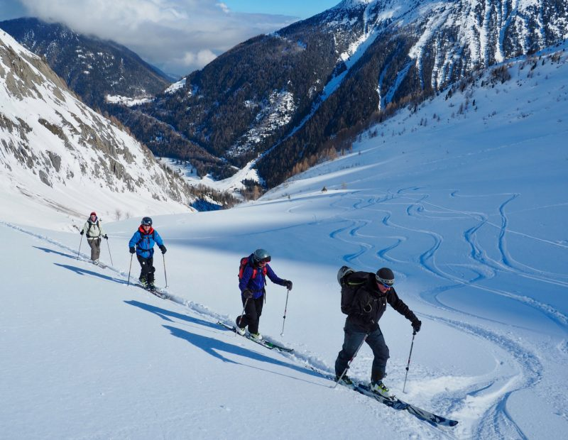 Ski Touring Col de Balme
