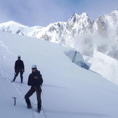 Petit Flambeau (3440m) North Ridge, PD