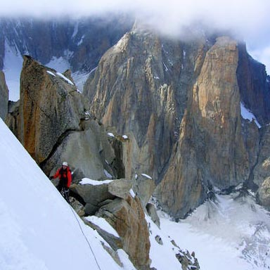 Rebuffat Gully (II, 4 350m) West Face Tour Ronde