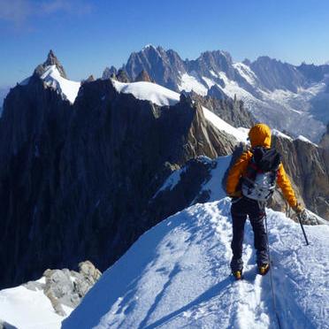 Aiguille du Midi (3842m) Variations
