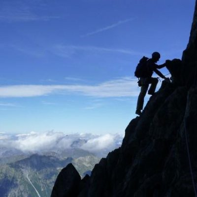 Aiguille du Peigne (3192m), Voie Normale