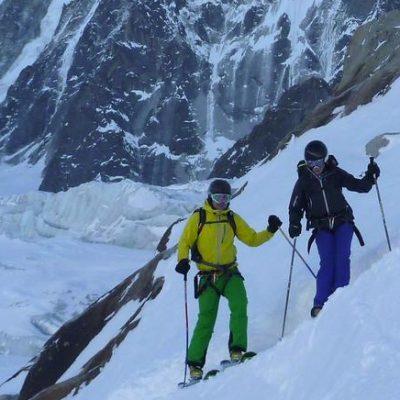 Ski Argentiere Glacier