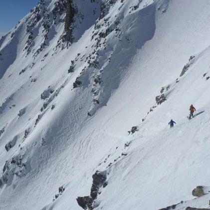 Ski Marbrées Couloir