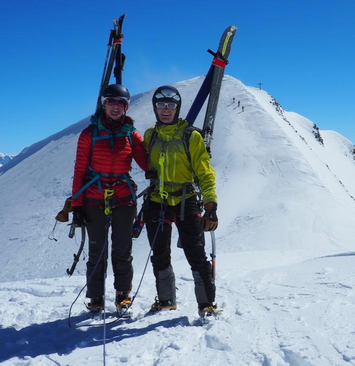Ski Mountaineering Haute Route / Aosta / West Oberland