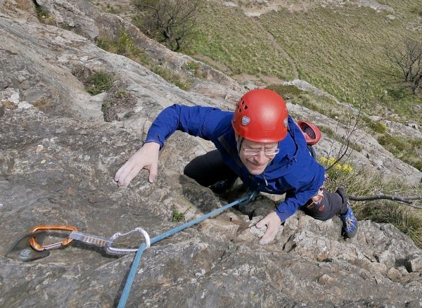 Rhone Valley rock climbing