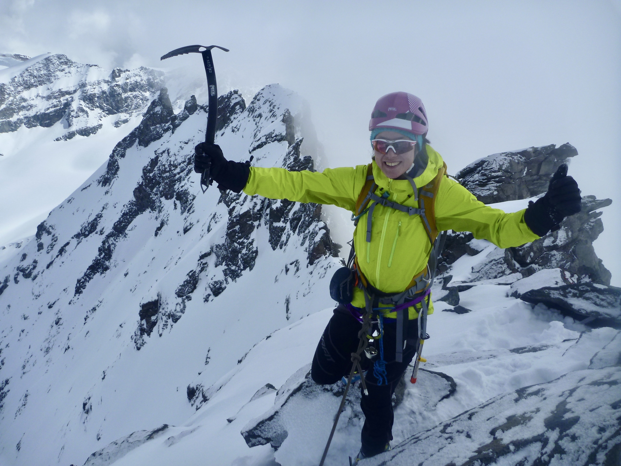 Spring Ski Mountaineering Summits Course