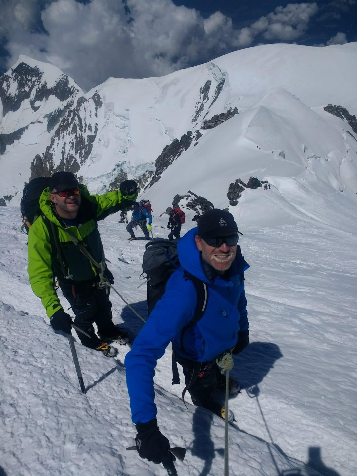 Climb Mont Blanc – June 2018