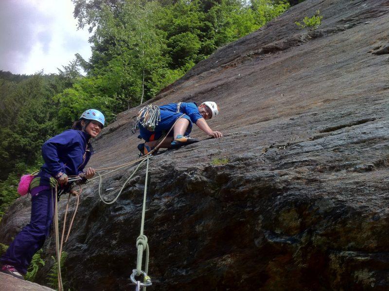 Les Contamines Rock Climbing