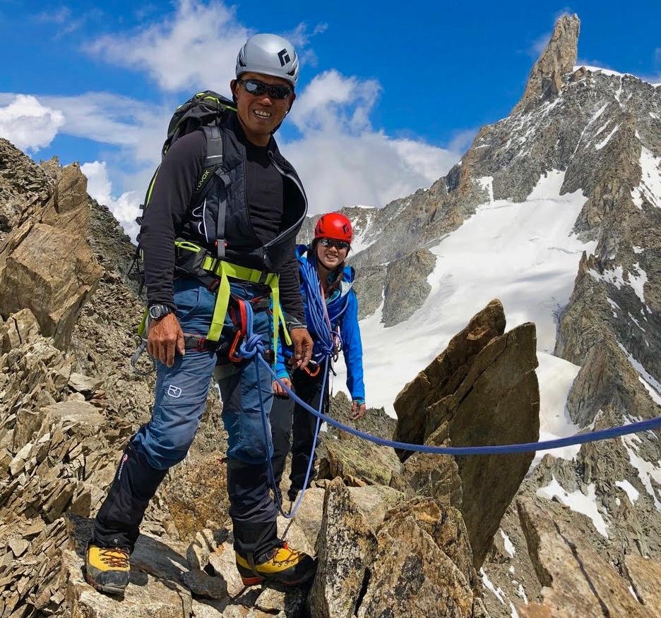 Climb Mont Blanc Training