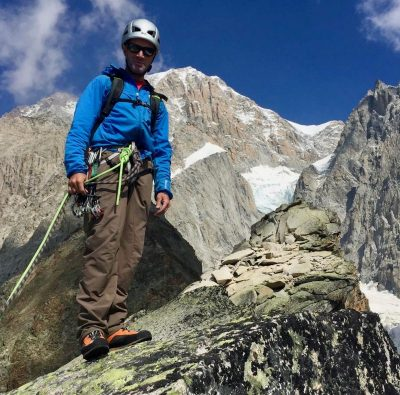 Guiding on Monte Bianco