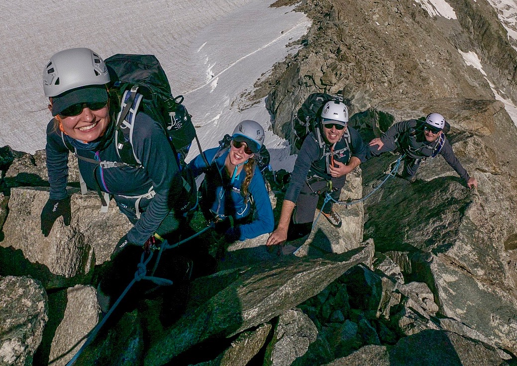 Torino Hut Mountaineering & Vallee Blanche Traverse