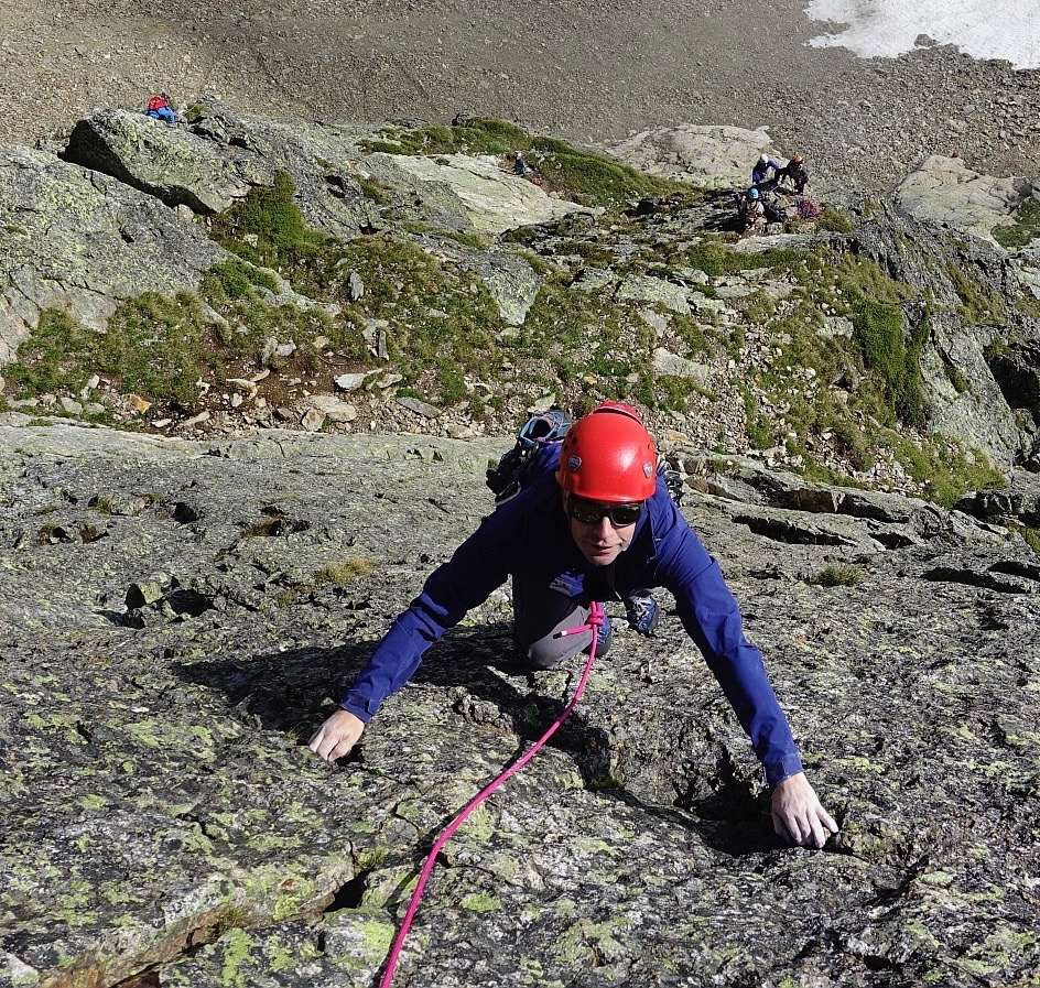 Chamonix Rock Climbing Guiding