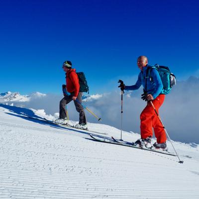 Early Season Ski Touring Mont Blanc Massif