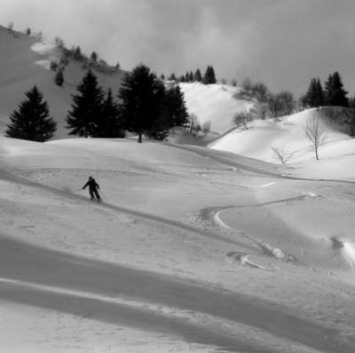 Tete d'Auferrand 1981m, Col de la Columbiere, Aravis