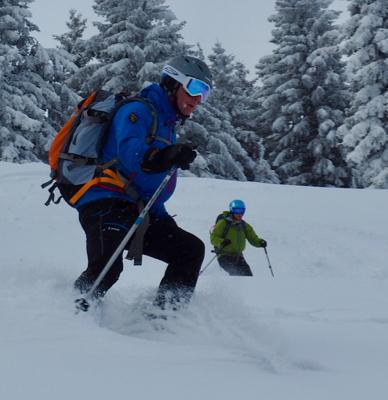Chamonix Guided Ski Touring Day
