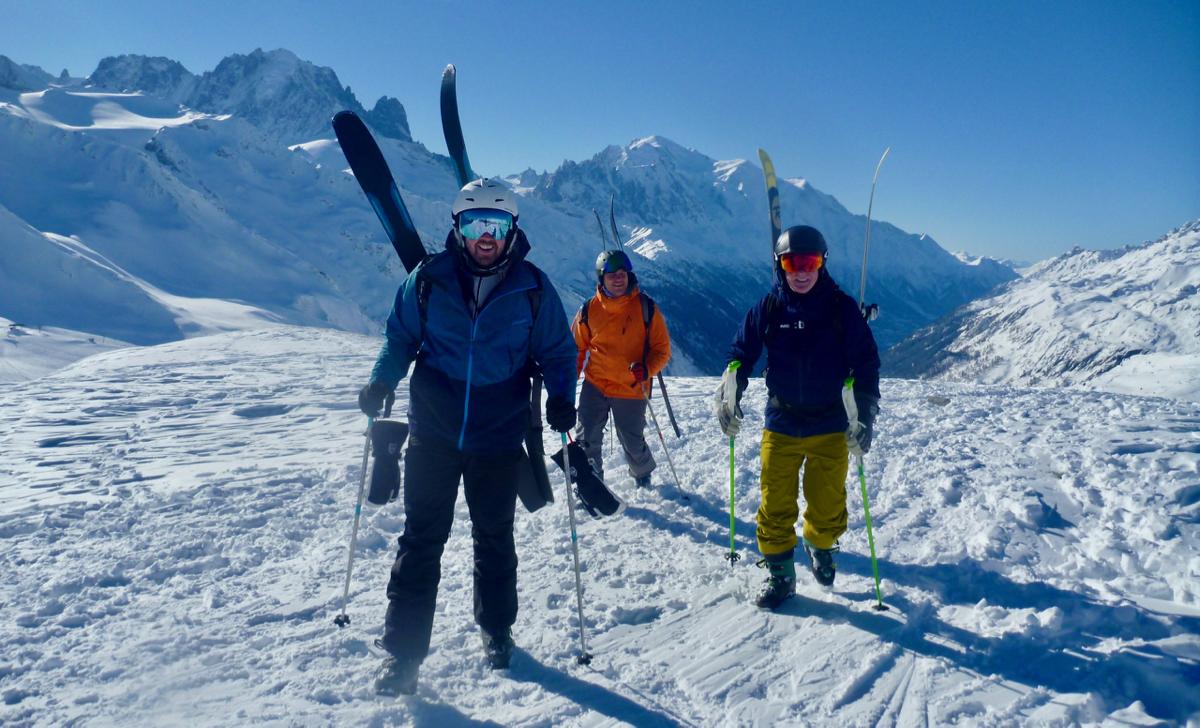 Ski Vallee Blanche & Half Day Chamonix Off Piste Warm Up