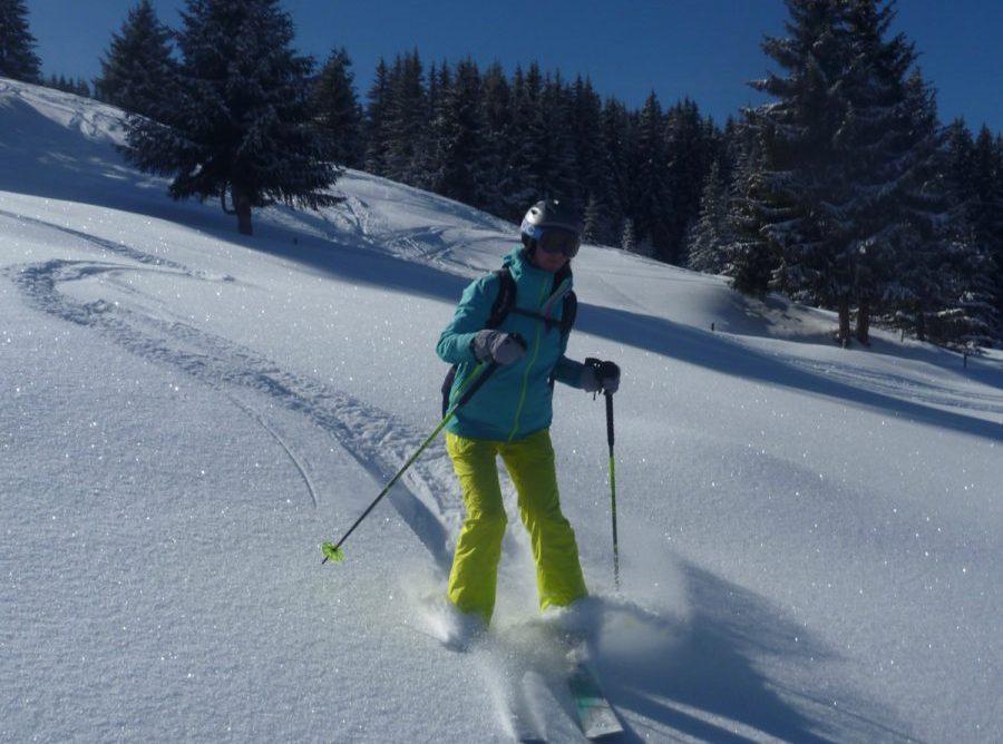 Off Piste Guiding At Les Grands Montets, Chamonix