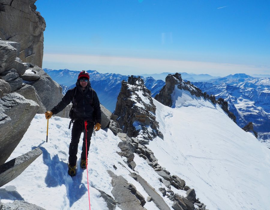 Spring Snow Shoe Ascent Of Gran Paradiso