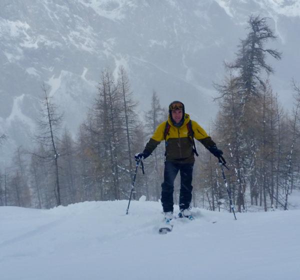 Off Piste Ski Guiding At Courmayeur