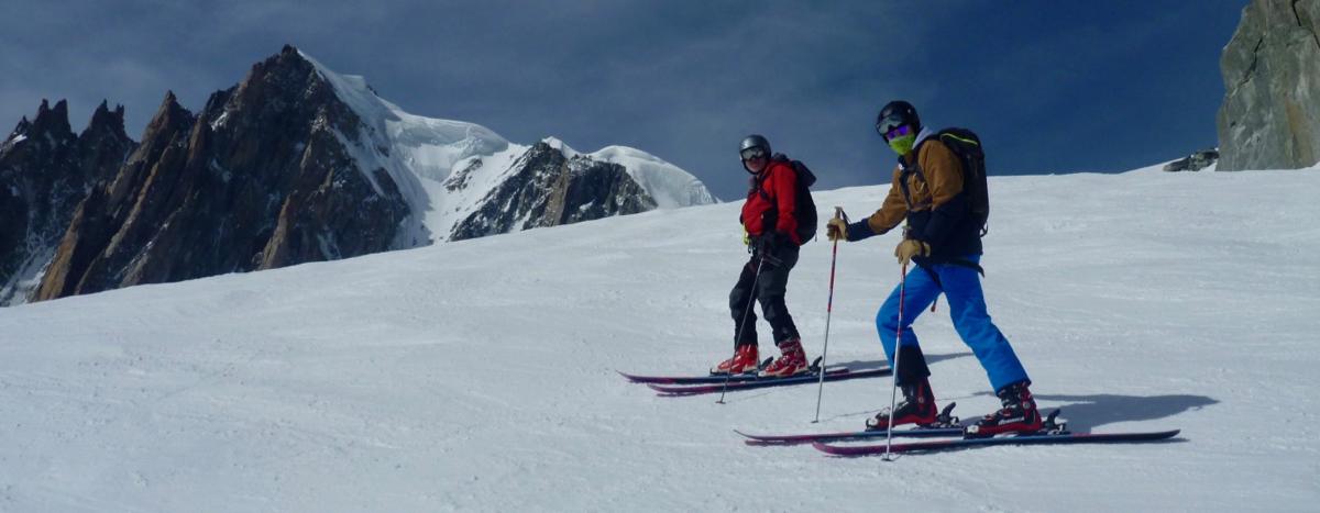 Chamonix Ski Touring Intro & Vallee Blanche Descent