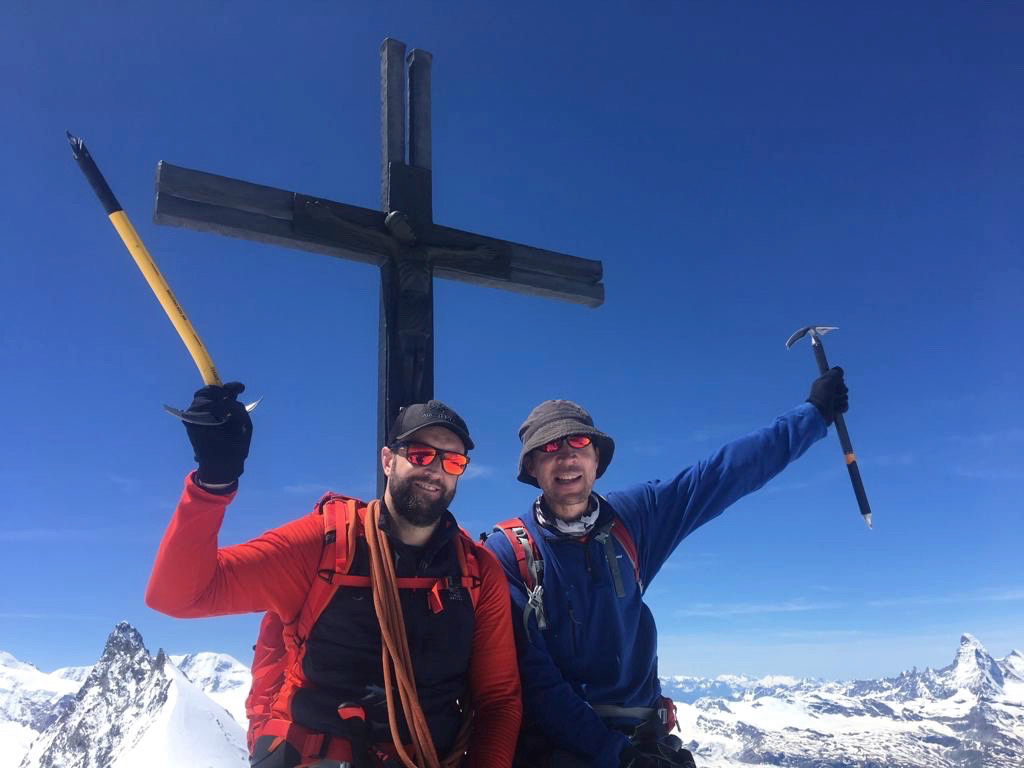 Climb Mont Blanc & Swiss 4000ers