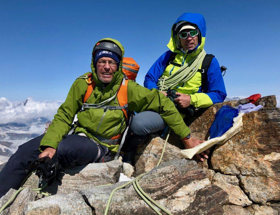 Dufourspitze Ascent, August 2019