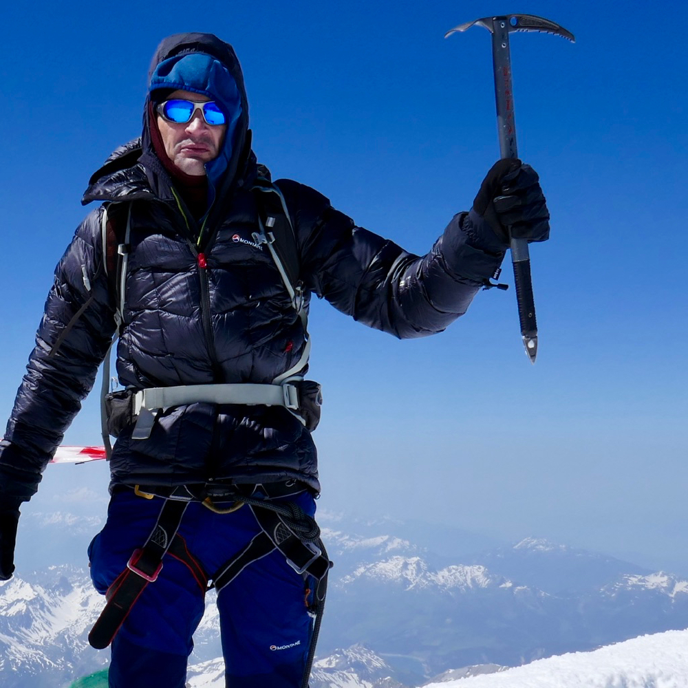 Mont Blanc Guiding With Gran Paradiso Training Climb