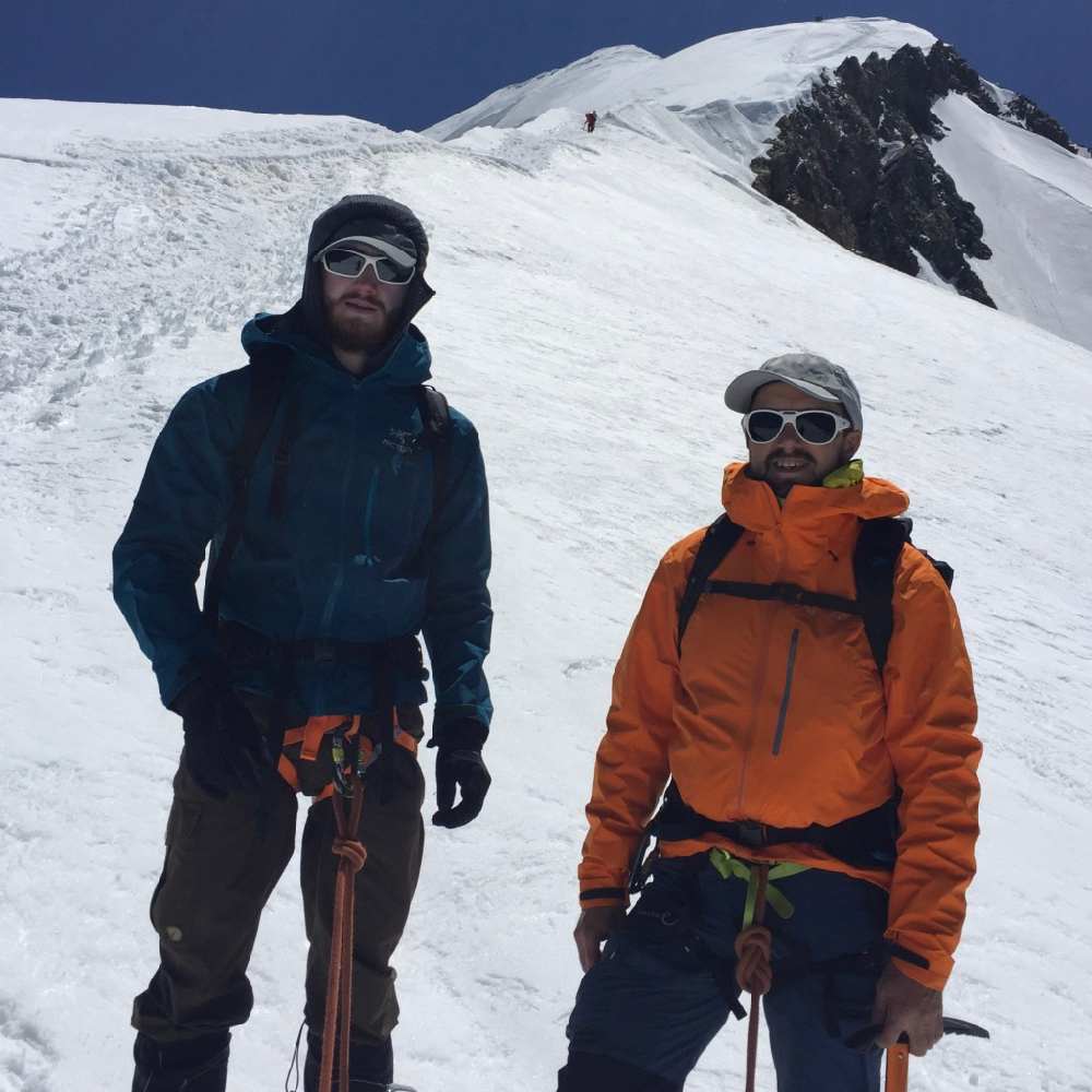 Weissmies & Mont Blanc Course, June 2019