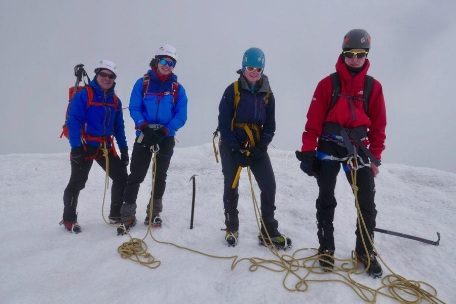 Pigne d'Arolla Ascent & Intro To Alpine Mountaineering