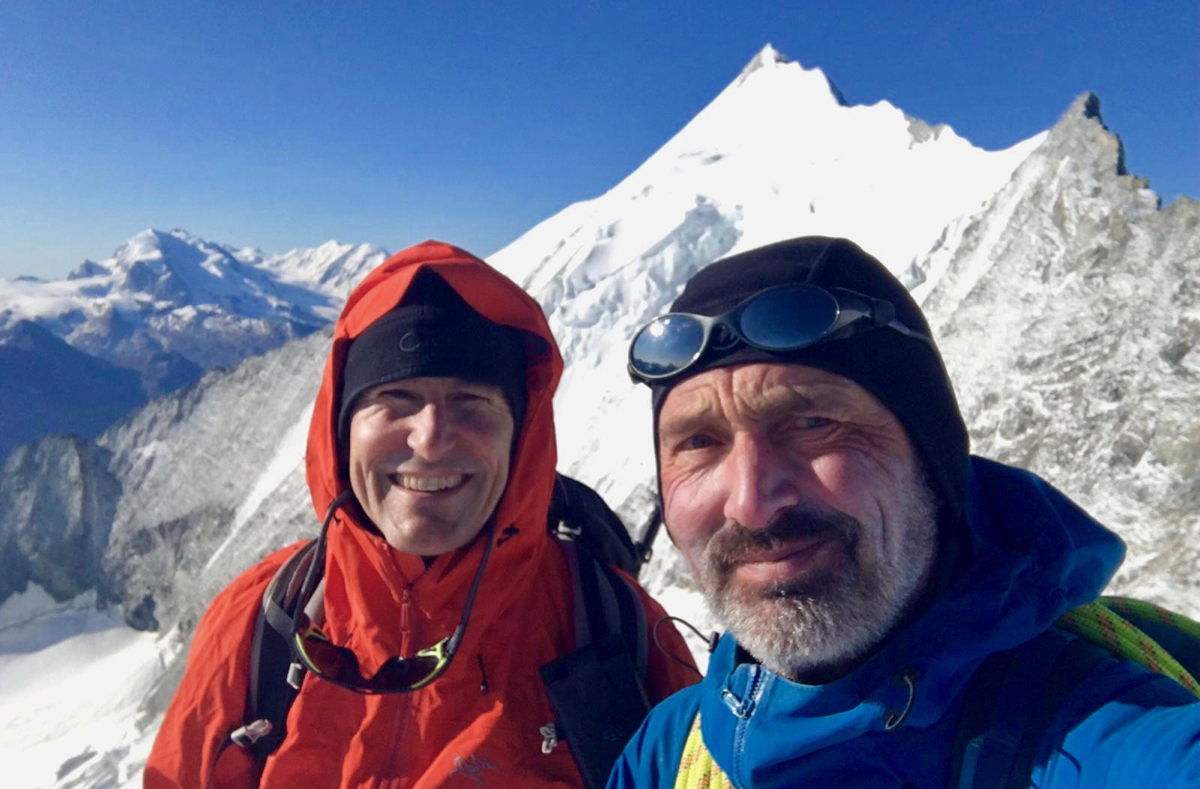 Bishorn & Pigne d'Arolla Ascents, Aug 2019