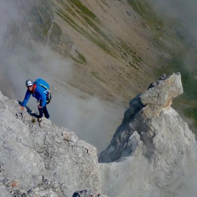 Rock climbing, mountaineering & walking in The Aravis Massif