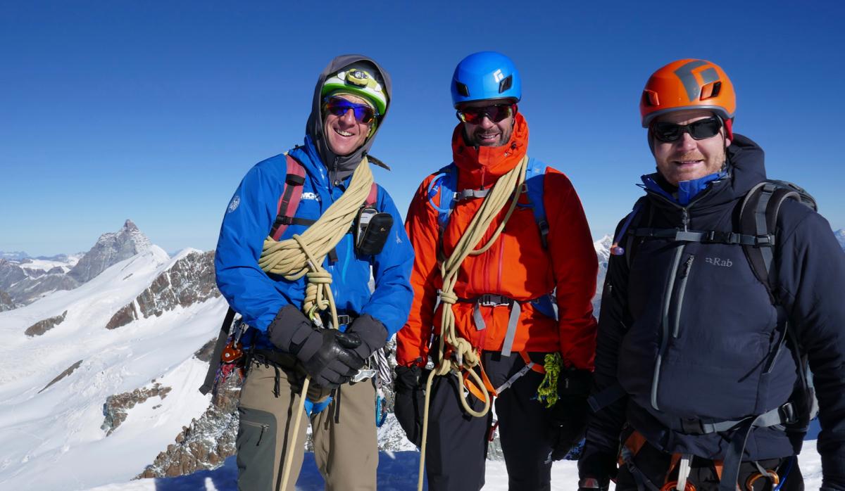 Zermatt & Swiss 4000m Peak Guiding Sept 2019