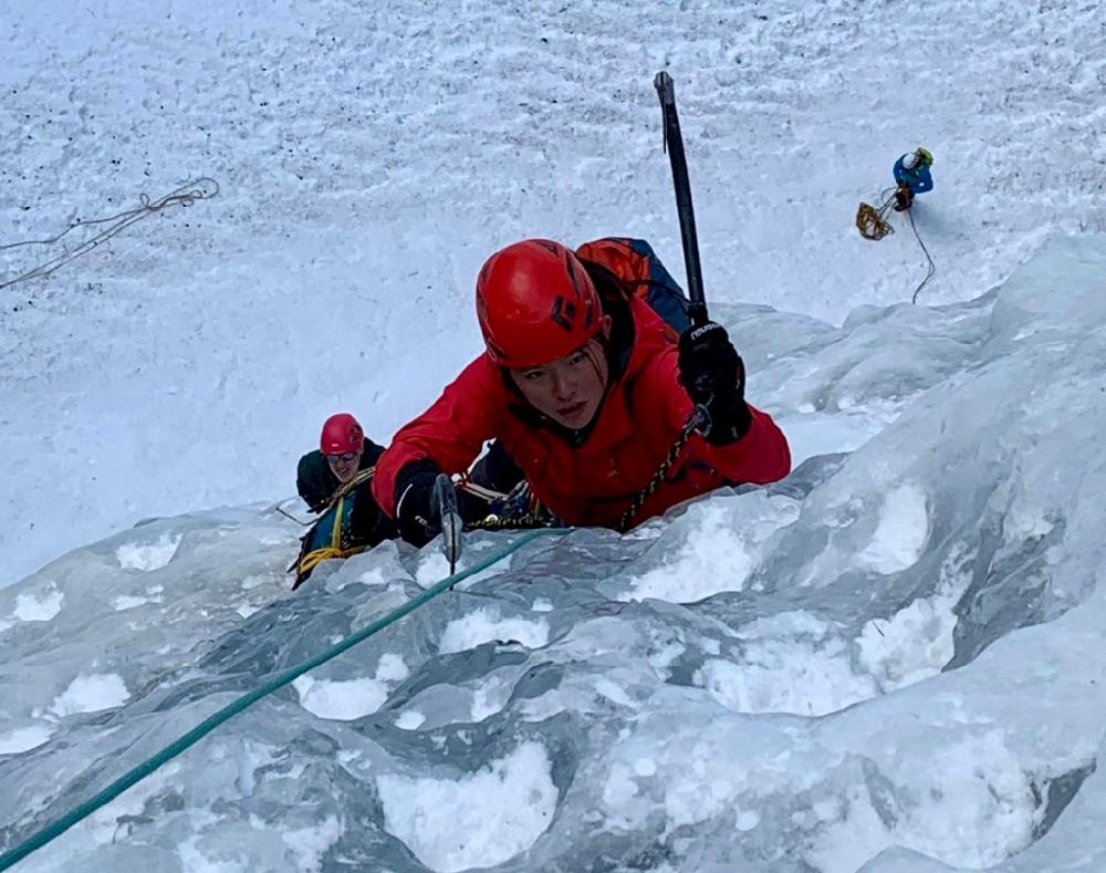 Chamonix Ice & Mixed Climbing, Jan 2020