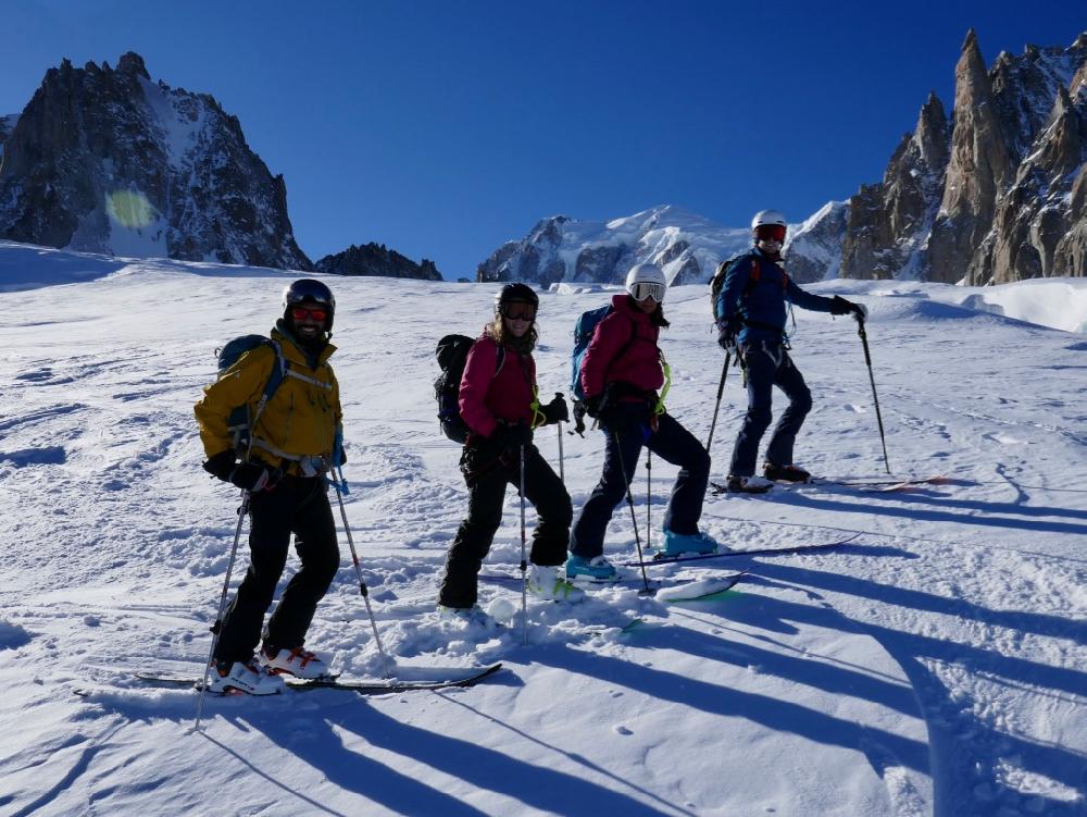 Jan 2020 Chamonix Intro Ski Touring Weekend
