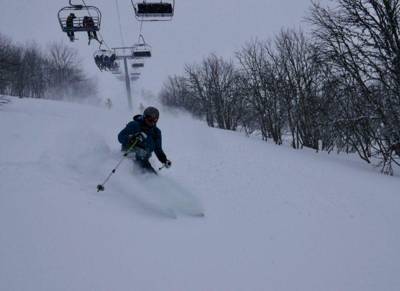 Combloux off piste ski guide