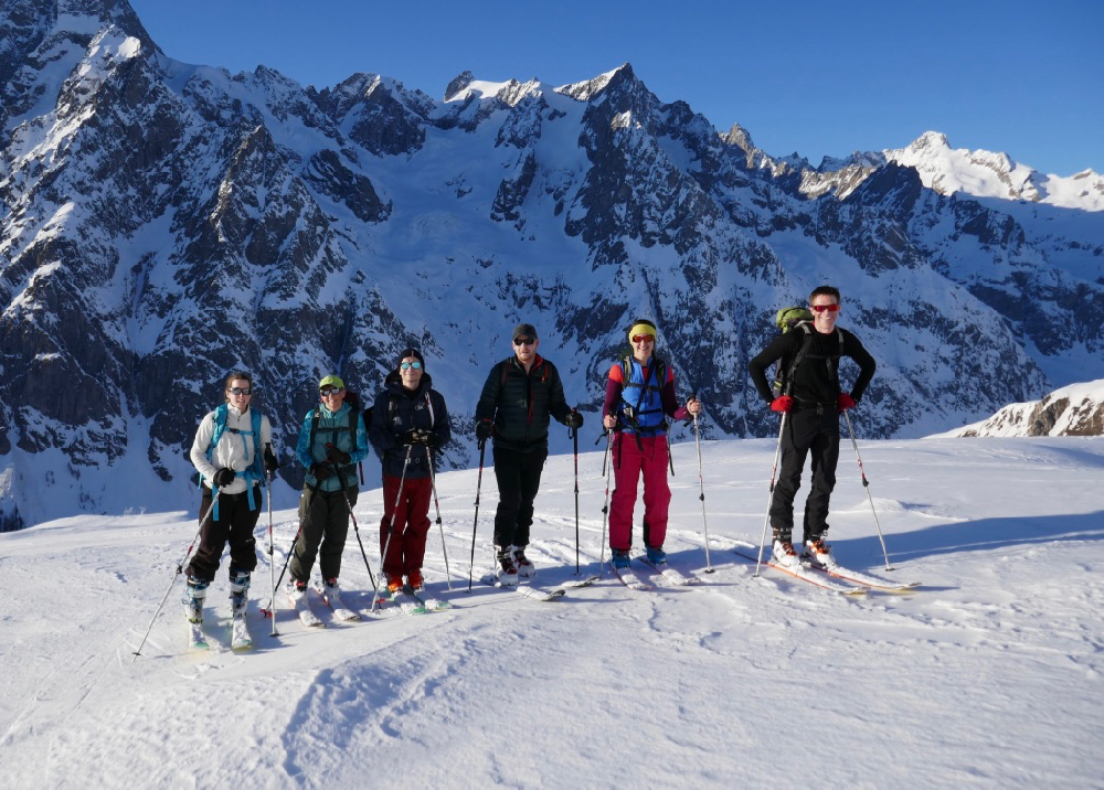 Feb 2020, Intro Ski Touring Weekend – Val Feret