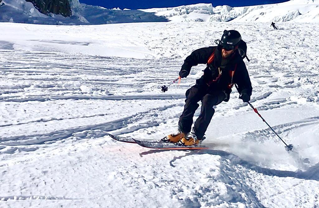 Ski Vallée Blanche Guiding Feb 2020